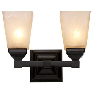 Find Mission Hall 2-Light Wall Sconce By TransGlobe Lighting
