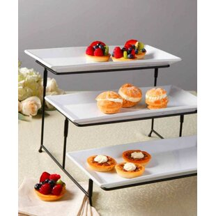 Two Tier Serving Tray Wayfair