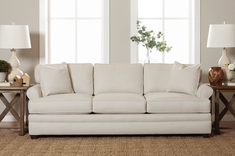 Wayfair Custom Upholstery 91 Rolled Arm Sofa Reviews Wayfair