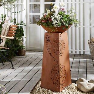 Rebecka Metal Pot Planter By The Seasonal Aisle