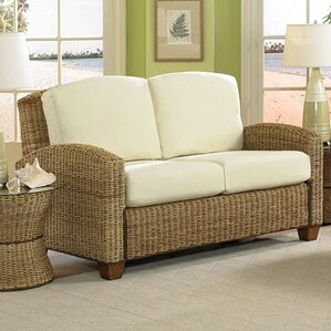 Cabana Banana Twill Loveseat by Home Styles
