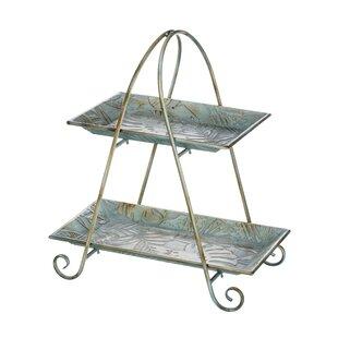 Fourche Decorative Tea Serving Tray