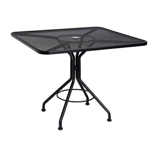 Easton Metal Dining Table by Woodard