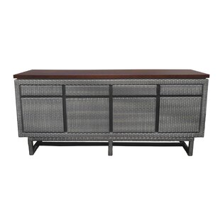 Shear Wooded Top 4 Drawer Buffet Table by Ivy Bronx