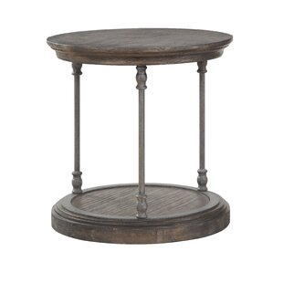 Burner End Table by Gracie Oaks