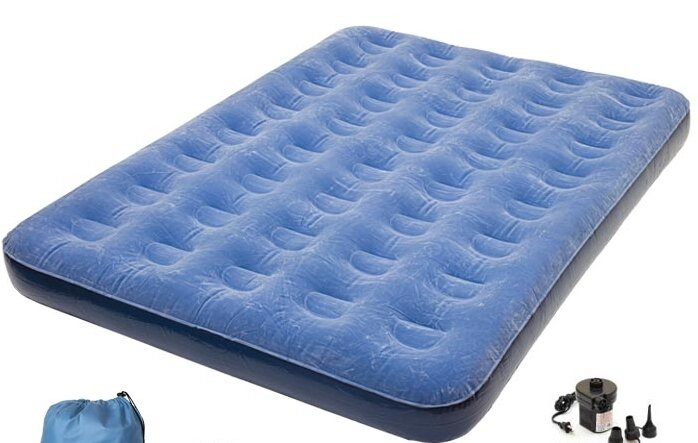 Pure Comfort Pure Comfort Full Size Air Mattress with Battery Pump