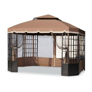 Mosquito Netting for Bay Window Gazebo by Sunjoy