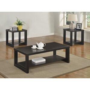 Marvelous Audra 3 Piece Coffee Table Set