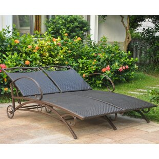 Stapleton Double Chaise Lounge by Charlton Home