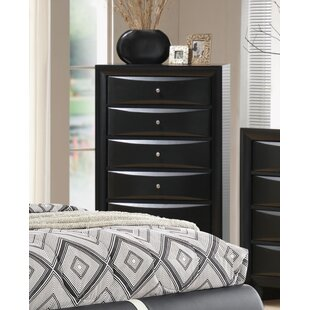 Reviews Kairi 5 Drawer Chest by Orren Ellis
