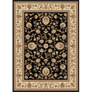 Bargain Clarence Black/Beige Area Rug By Astoria Grand