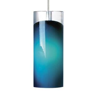 Ebern Designs Thaddeus 1-Light Cylinder Pendant