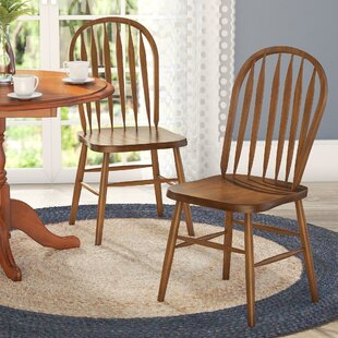 Acadian Windsor Dining Chair (Set of 2) Alcott Hill