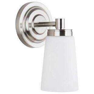 Figueroa 1-Light LED Bath Sconce by Ebern Designs