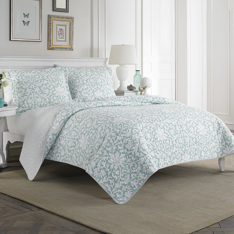 Laura Ashley Home Mia Cotton Quilt Set By Laura Ashley Home - Laura ashley bedroom