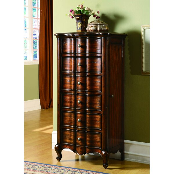 Hooker Furniture French Jewelry Armoire Reviews Wayfair