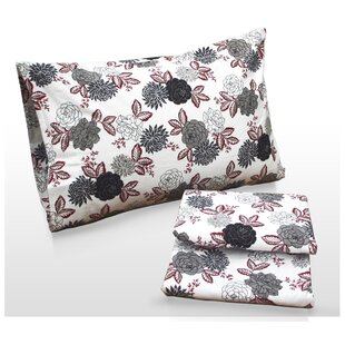 Dahlia Floral Printed Sheet Set