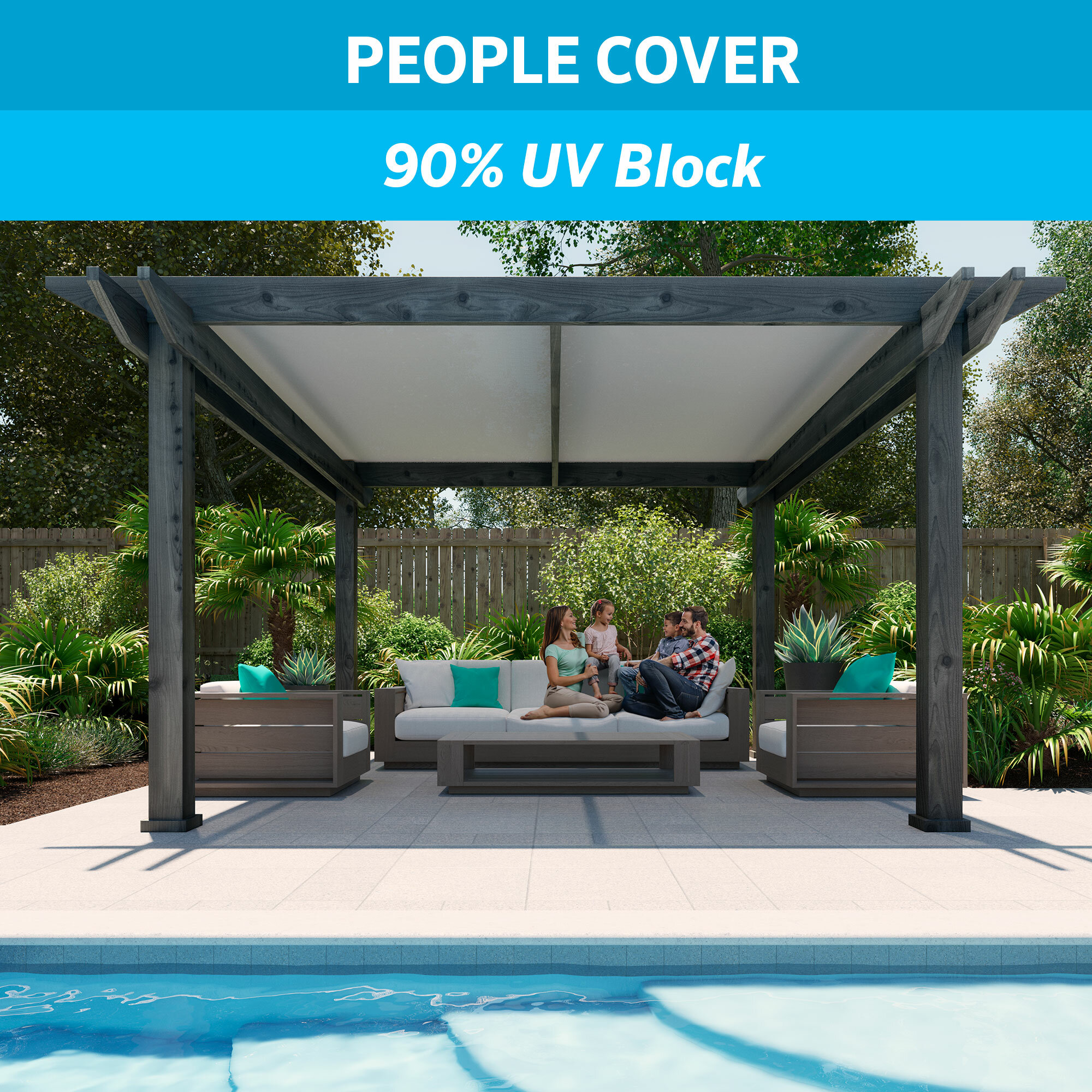 Coolaroo Shade Fabric 90 Uv Protection Replacement Canopy Reviews Wayfair