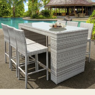 Ansonia 7 Piece Bar Height Dining Set