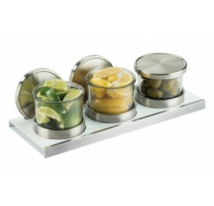 Melanie 3 Piece Kitchen Canister Set