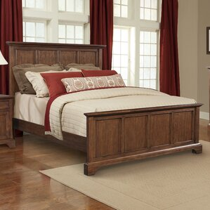 Retreat Cherry Panel Bed by Cresent Furniture