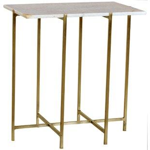 Tipton & Tate Canton Brass End Table