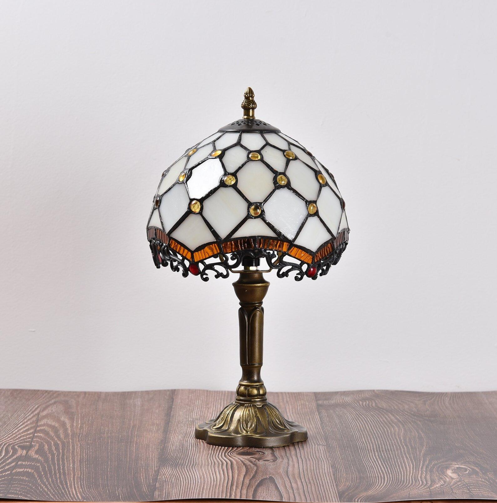 Antique Bronze Standard Table Lamp
