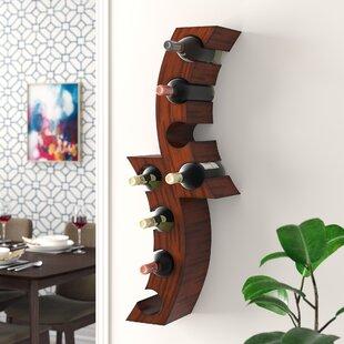 8 Bottle Wall Mounted Wine Rack By Brayden Studio