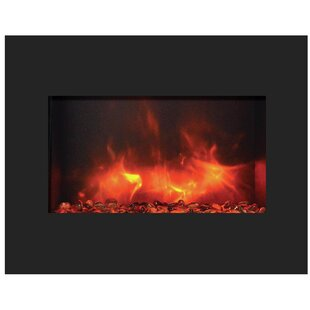 Wall Mounted Electric Fireplace by Amantii