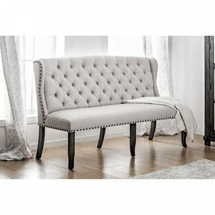 Holstentor Upholstered Bench by Canora Grey