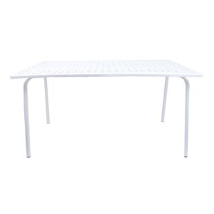 Westley Metal Dining Table By Sol 72 Outdoor
