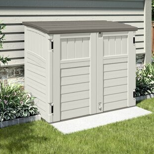 Sprouse Plastic Double Bin Store By Sol 72 Outdoor