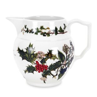 The Holly And The Ivy Staffordshire 0.60 L Jug By Portmeirion