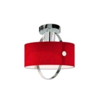 ZANEEN design Ring 1-Light Semi Flush Mount