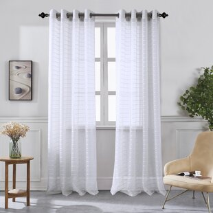 100 Inch Wide Sheer Curtains Wayfair