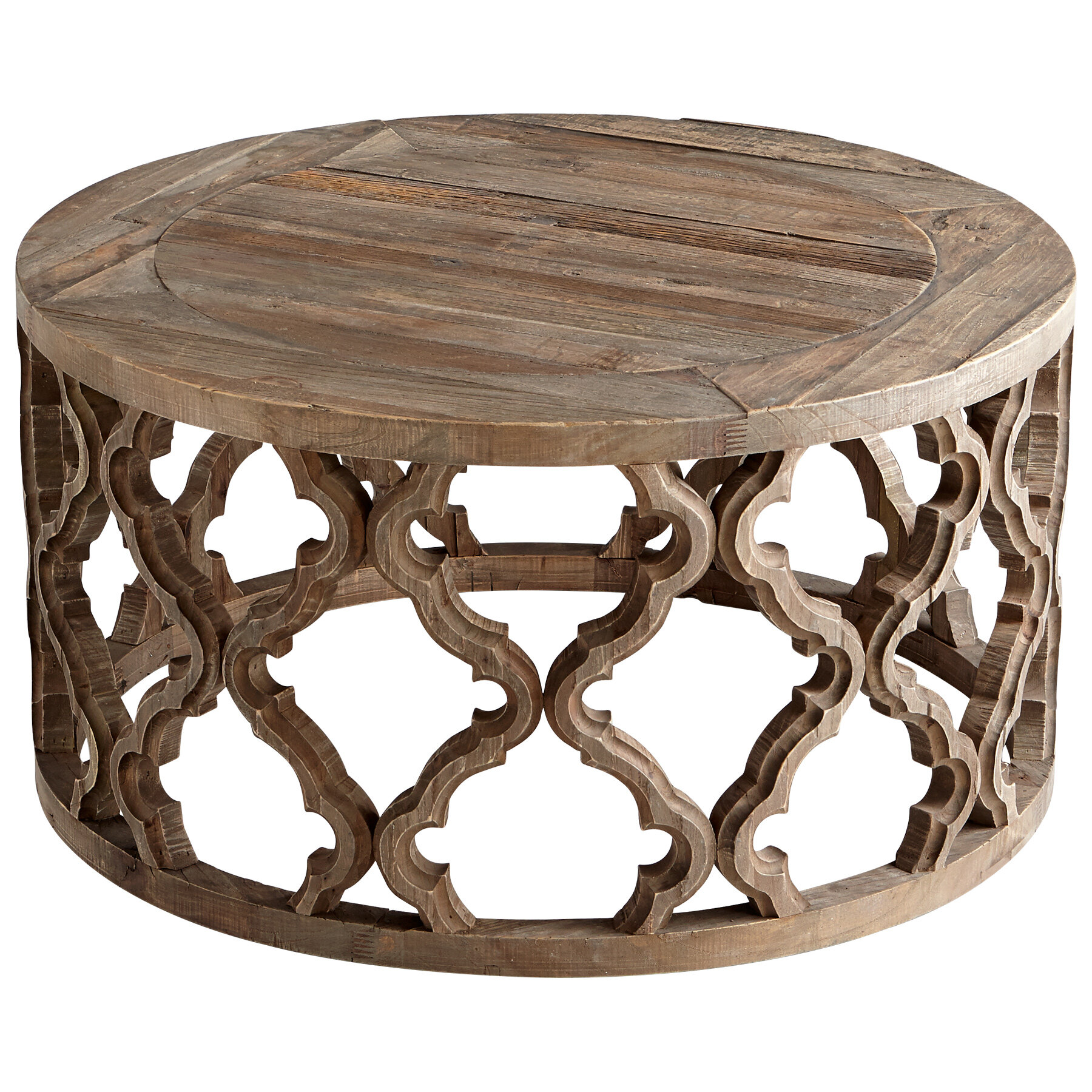 Cyan Design Sirah Solid Wood Frame Coffee Table Reviews Wayfair
