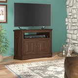 Glastonbury Solid Wood Corner TV Stand for TVs up to 43 by Loon Peak®