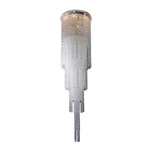 Allegri by Kalco Lighting Boticelli 4-Light Crystal Chandelier
