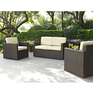 Belton 3 Piece Sofa Set with Cushions