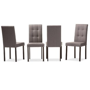 Aiello Upholstered Dining Chair (Set Of 4) by Latitude Run 2019 Online