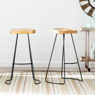 Barraute 30.25 Bar Stool (Set of 2) Laurel Foundry Modern Farmhouse