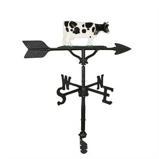Cow Weathervane By Montague Metal Products Inc.