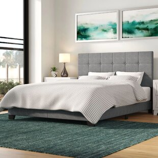 Cloer Upholstered Panel Bed by Mercury Row