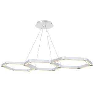 Rosenzweig 3-Light LED Chandelier by Orren Ellis