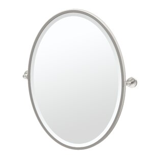 Comparison Glam Framed Oval Wall Mirror By Gatco