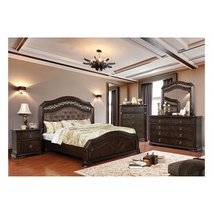 Robert California King Upholstered Panel Configurable Bedroom Set
