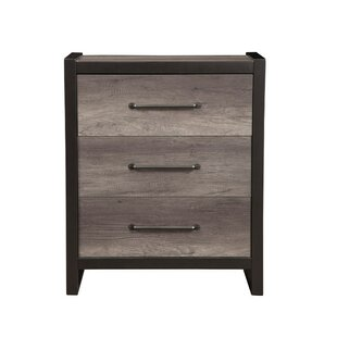 Bonenfant 3 Drawer Accent Chest by Foundry Select