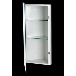 Price comparison Mariano 14 x 30 Surface Mount Framed Medicine Cabinet with 2 Adjustable Shelves By Orren Ellis