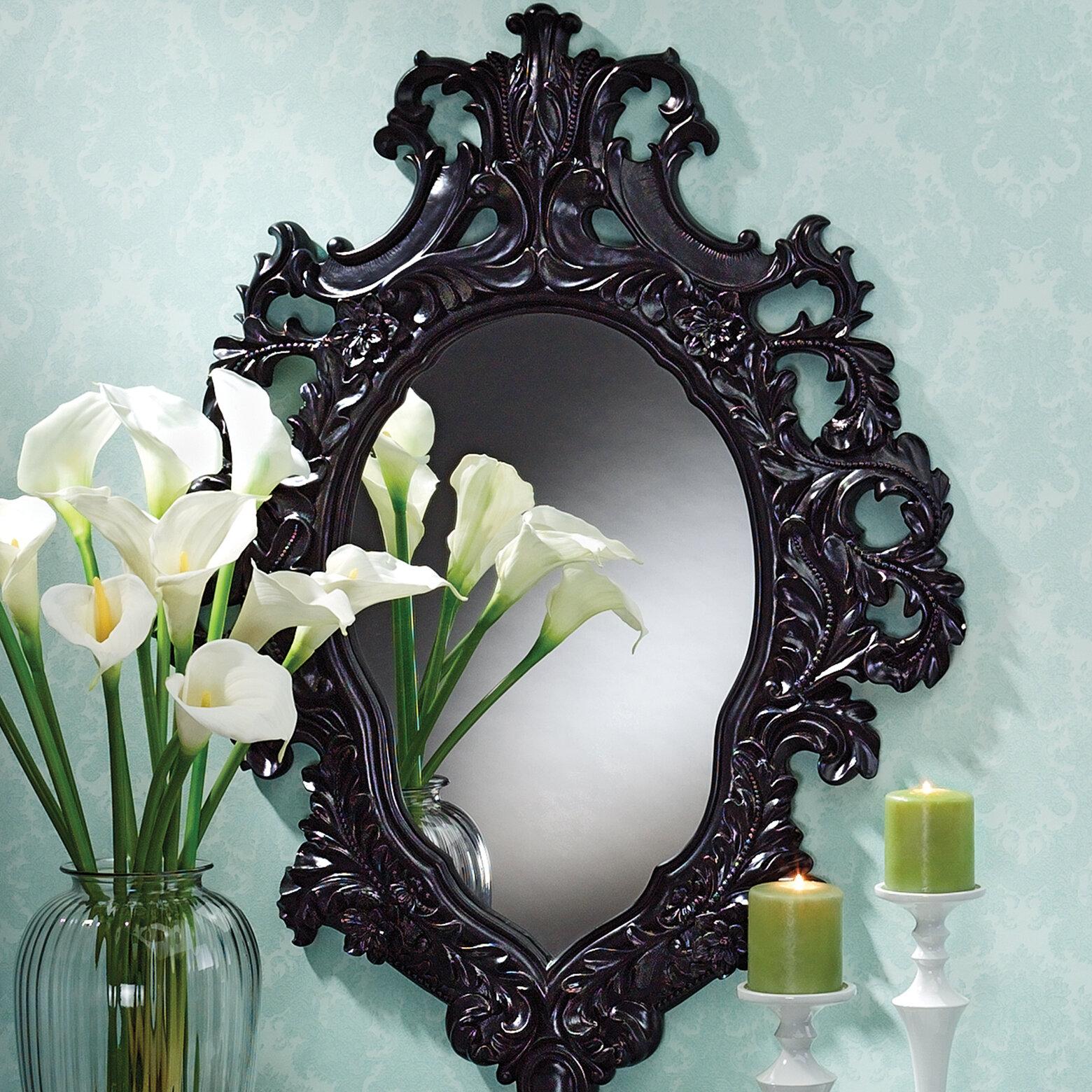 Design Toscano Madame Antoinette Salon Accent Mirror Reviews Wayfair
