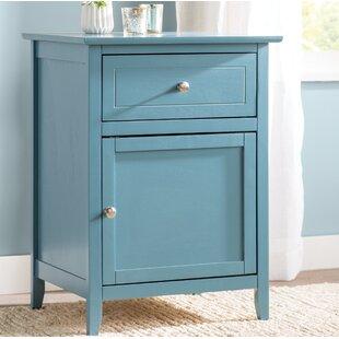 blue nightstands you'll love | wayfair Fun Nightstands